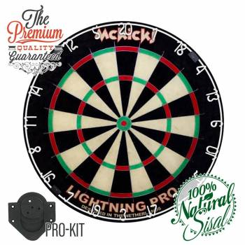 Dartboard McKicks Lighting Pro inklusive Wandhalterung