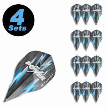 4 Flight Sets (12 Stk) Edge Phil Taylor The Power