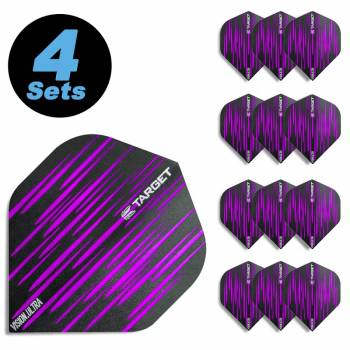 4 Flight Sets (12 Stk.) Standard Spectrum Vision Ultra violett