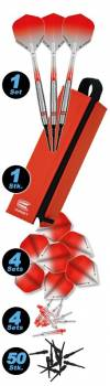 Sparset Softdart 18 g Set Colours 2 rot
