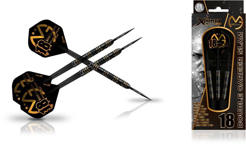 Darts XQ-MAX Michael van Gerwen Career Slam Edion Steeldarts Dart Set