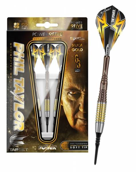 Sparset Softdart Power 9Five Phil Taylor Generation 3