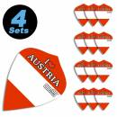 "4 Flight Sets (12 Stk) Kite ""I love Austria"""